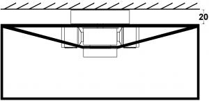ceiling feeder