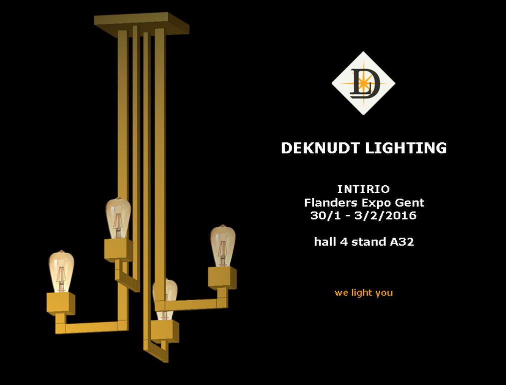 DEKNUDT LIGHTING on INTIRIO (Ghent)